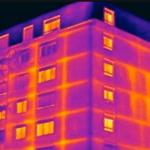 Une image provenant d'une caméra thermique permet d'analyser efficacement les déperditions de châleur.