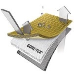 La membrane Goretex est constituée de micropores stoppant l'eau mais laissant passer la vapeur pour la respirabilité.