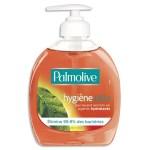 La savon Palmolive est présenté sous forme liquide et distribué par un système doseur.