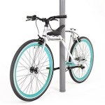 Le cadre du vélo Yerka est segmenté et articulé. Il se transforme en antivol en utilisant le tube de selle.