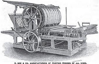 Rotary Printing Press (Web Offset)