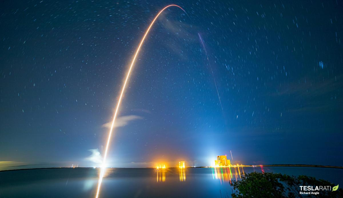 Liftoff Over the Blue Ocean