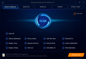 Advanced SystemCare Pro 11.1.0.198 Key With Crack Free Download