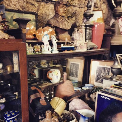 Antique shop. Looks like a mess but may discover treasures.