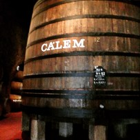 Don't miss the wine distillery of Calem.