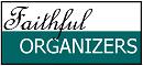 Faithful Organizers logo, 25 percent