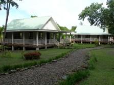 The exterior of Yap Catholic High School.