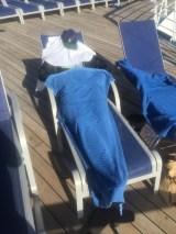 This is how Derek enjoys the sun:)