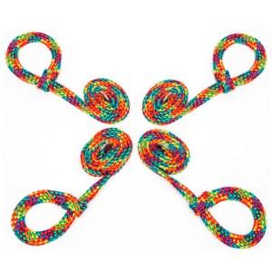 Bondage Boutique Rainbow Soft Rope Restraints