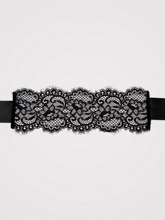Bondage Boutique Black Lace Eye Mask