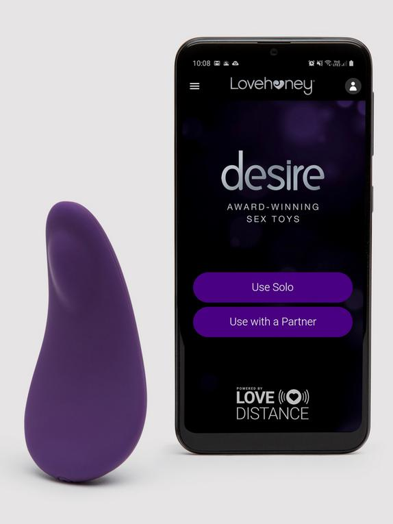 Desire Luxury App Controlled Rechargeable Panty Vibrator
