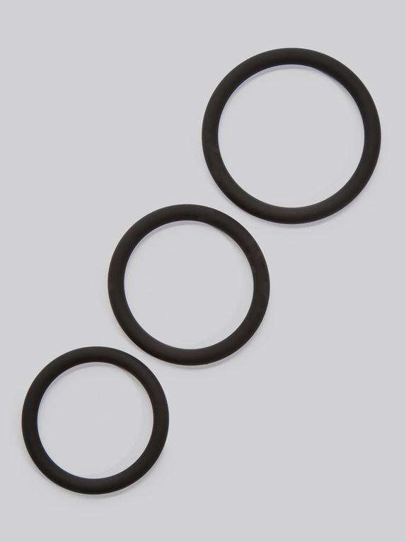 Lovehoney Get Hard Stretchy Silicone Cock Ring Set (3 Count)