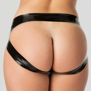 Rubber Girl Latex Spanking Panties