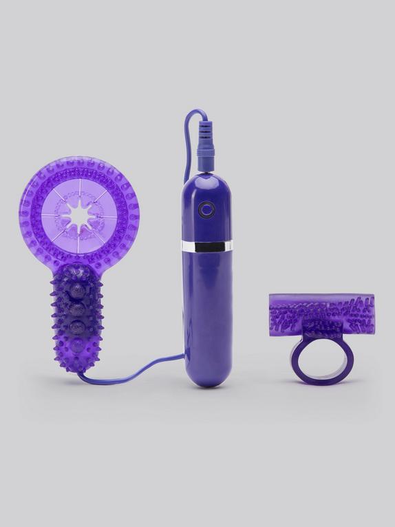 Lovehoney Bedtime Bullet 10 Function Vibrating Cock Ring Set