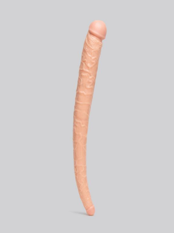 Hoodlum Tapered Double Penetration Realistic Double-Ended Dildo 22 Inch