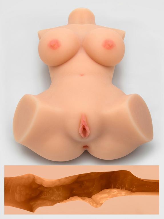 THRUST Pro Elite Alicia Realistic Vagina, Ass and Tits Masturbator 264.5oz