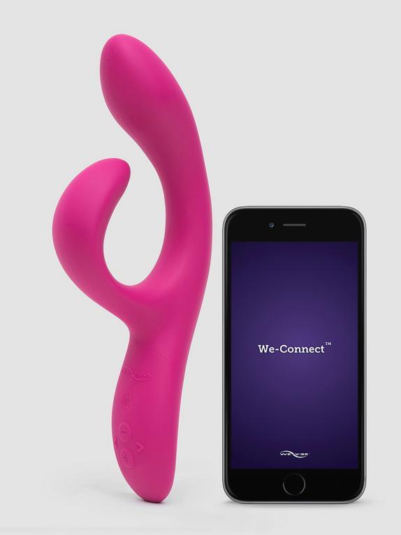 We-Vibe Nova 2 App Controlled Rechargeable Rabbit Vibrator