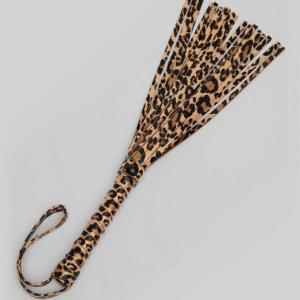 Bondage Boutique Leopard Print Small Flogger