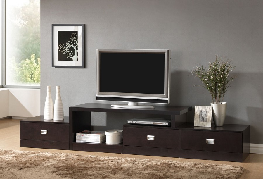 Image Result For Dark Wood Tv Stands For Flat Screens
