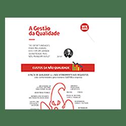 Infográfico Gestão da Qualidade: Entenda de maneira prática os custos da não qualidade, maneiras de encontrar os problemas e quais ferramentas utilizar para uma melhoria contínua dos processos