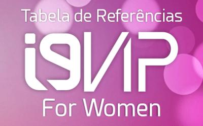 Tabela de Referência i9Vip para Mulheres