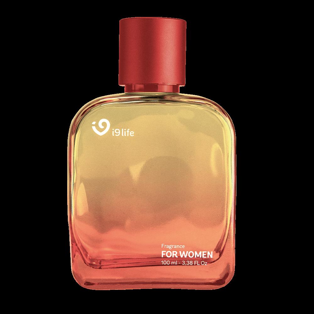 perfume de vidro i9life feminino