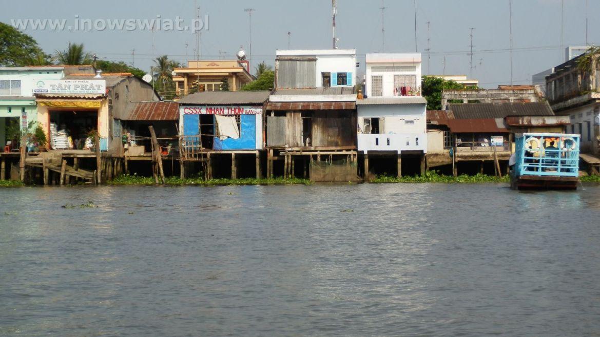Mekong Delta - pływające domy