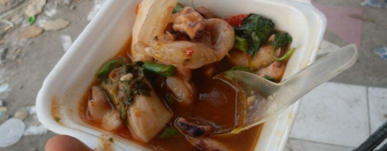 Ayutthaya - Owoce morza w sosie z piekła