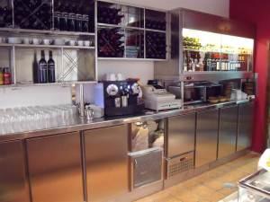 Mostradores de Cafeterías