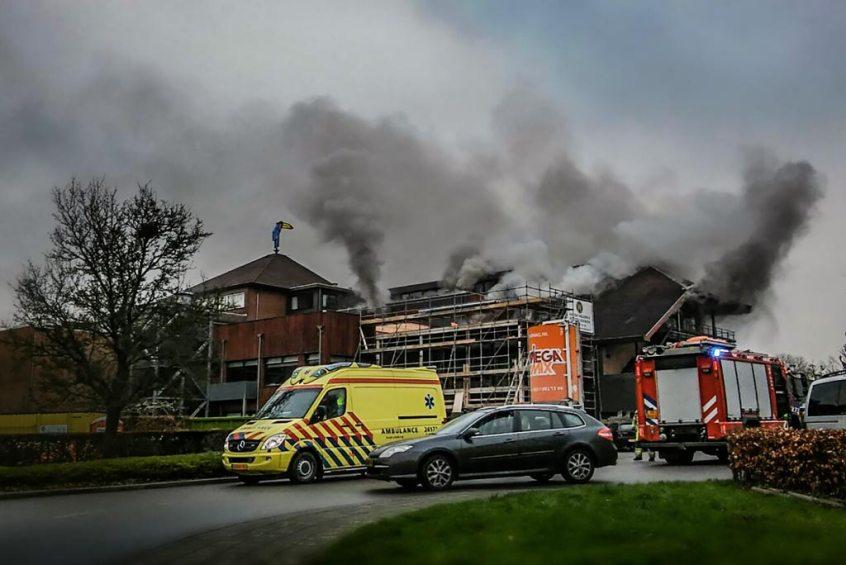 Brand Van der Valk Hotel Heerlen onder controle
