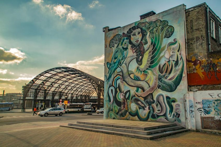 Streetart hoofdstad van Nederland