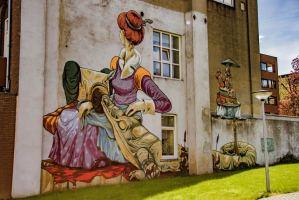 Heerlen Murals - Rookie (The Weird Crew)