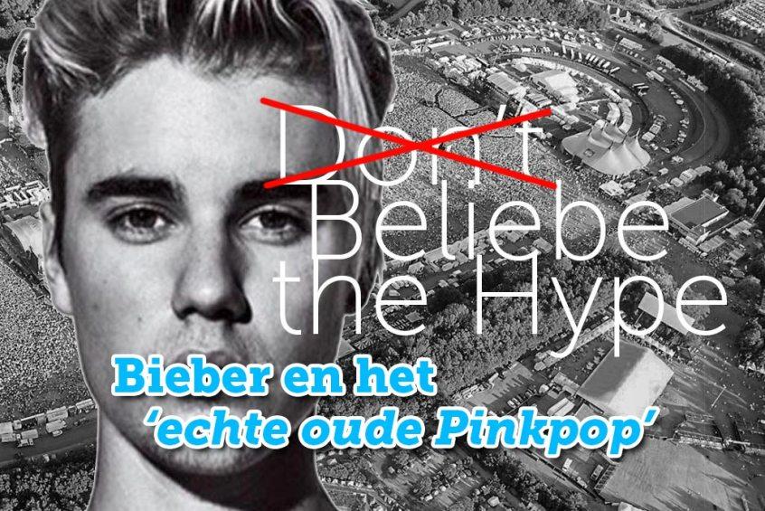 Bieber op PinkPop