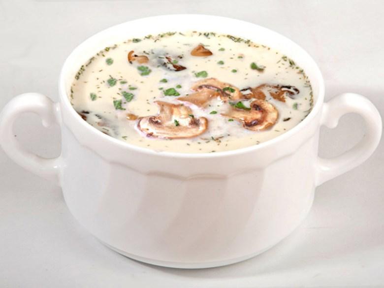 Грибной сливочный суп