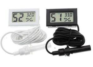 Цифровой мини-гигрометр / термометр
