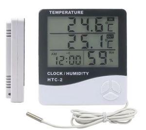 Цифровой уличный гигрометр-термометр HTC-2