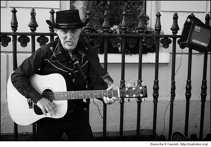 Cobh Street Entertainer