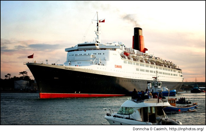 Turning Circle of the QE2