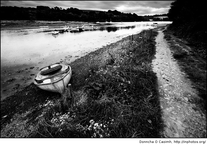 lonely boat in fountainstown