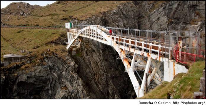 Bridge to Mizen Head