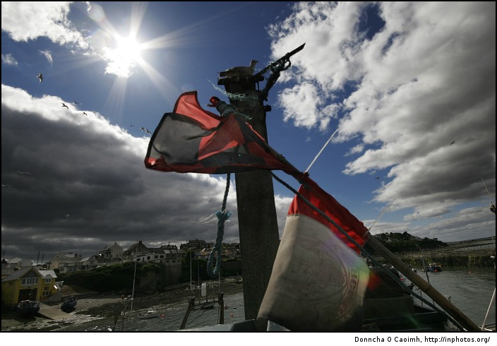 The rebel flag in Ballycotton