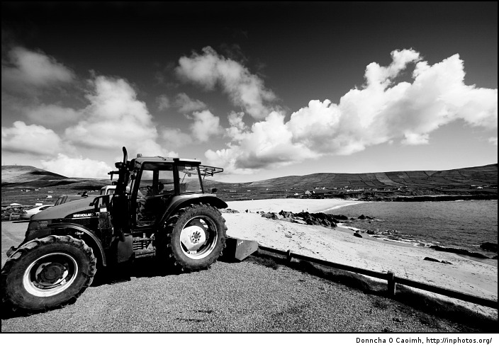Tractor at Allihies