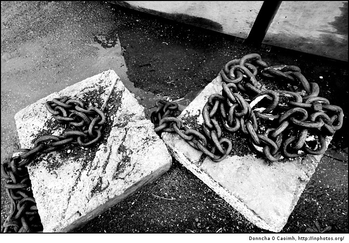 Chains of fishing