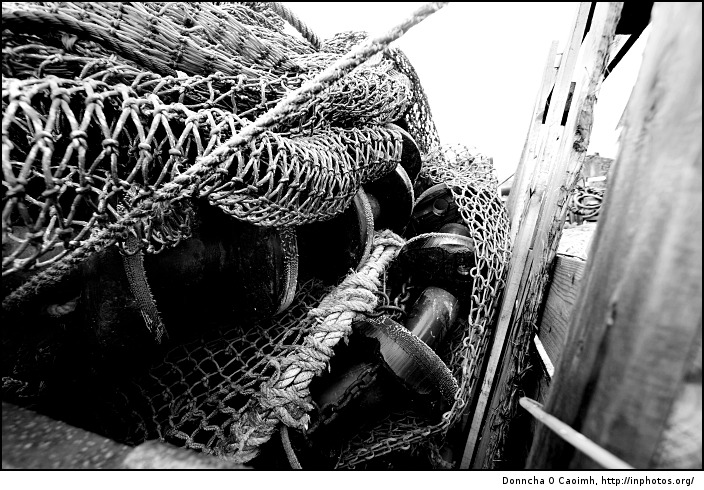 Fishing rope and tackle