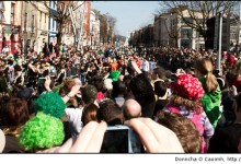 Patrick's Day Crowds