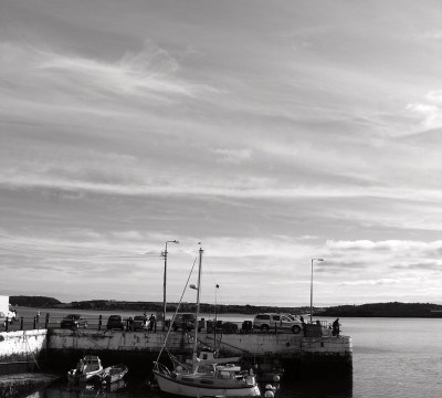 Cobh in Black and White