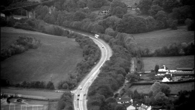 Chetwynd Viaduct From the Air