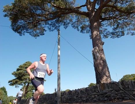 Running in the Blarney Half Marathon