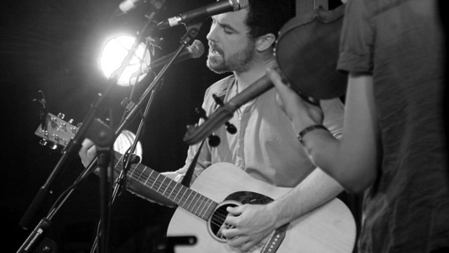 Mick Flannery at the Spiegeltent