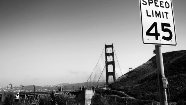 45 on the Golden Gate
